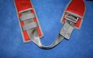 Adjustable leg pad